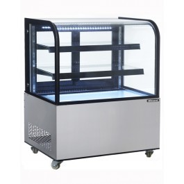 Blizzard DC270 Refrigerated Stainless Steel Mobile Display Cabinet