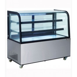 Blizzard DC470 Refrigerated Stainless Steel Mobile Display Cabinet