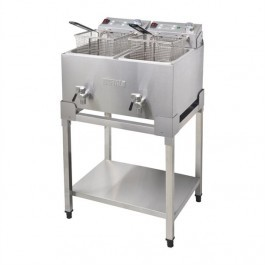 Buffalo DF502 Stainless Steel Stand for Buffalo Fryers FC375 & FC377