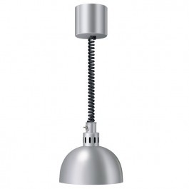 Hatco DL-750-RL Heat Lamp in Glossy Grey or Nickel