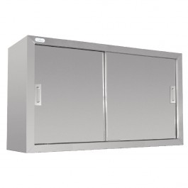 Vogue DL450 Stainless Steel Wall Cupboard With Adjustable Shelf - 1200mm
