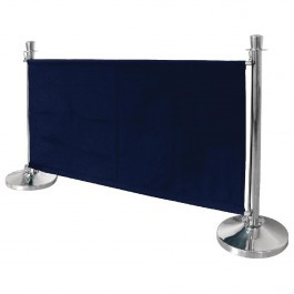 Bolero DL480 Dark Blue Canvas Barrier - 1430mm