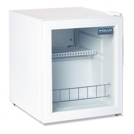 Polar DM071 White Counter Top Display Fridge