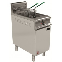 Falcon G3840F Dominator Plus Single Pan Twin Basket Gas Fryer with Filter