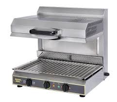 Roller Grill SEM600VC-PDS Salamander with Adjustable Top & Vitroceramic Glass