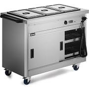 Lincat P6B3 Panther 670 Series Hot Cupboard With Bain Marie