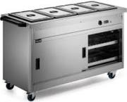 Lincat P6B4 Panther 670 Series Hot Cupboard With Bain Marie