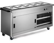 Lincat P6B5 Panther 670 Series Hot Cupboard With Bain Marie