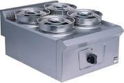 Falcon LD36 Pro-Lite Dry Heat Operation Four Pot Bain Marie