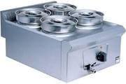 Falcon LD37 Pro-Lite Wet Heat Operation Four Pot Bain Marie