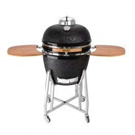 Buffalo DR826 Ceramic Kamado Charcoal BBQ Grill