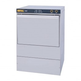 Buffalo DW468 Undercounter Glasswasher with Drain Pump & 500mm Baskets