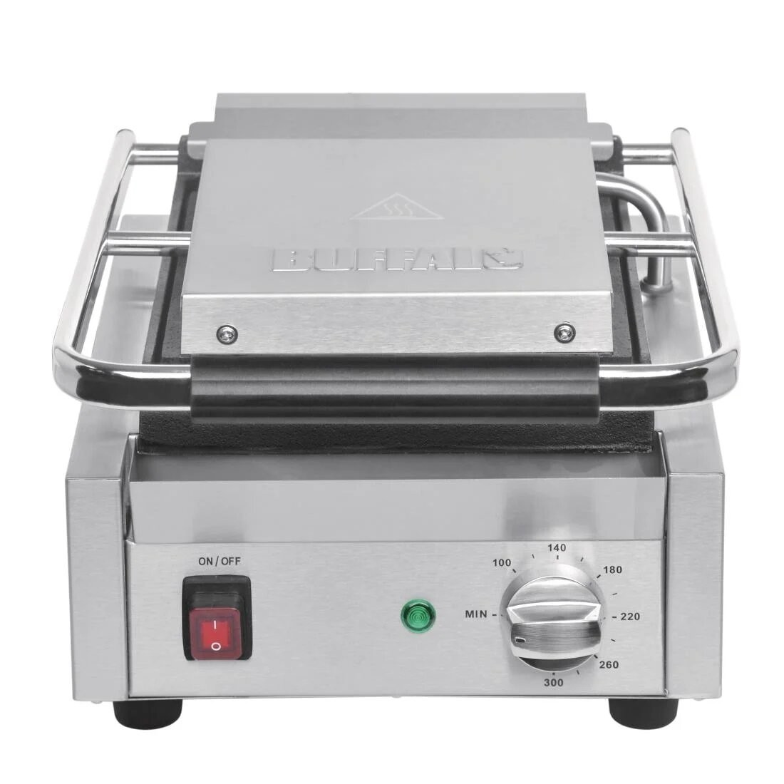 Buffalo DY993 Bistro Ribbed Contact Grill