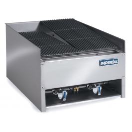 --- IMPERIAL EBA-2223 --- Char Rock Gas Chargrill with Two Burners