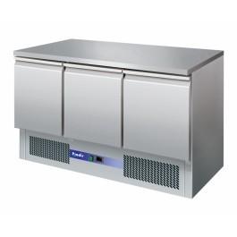 Prodis EC-3SS Compact Gastronorm 3 Door Counter Fridge