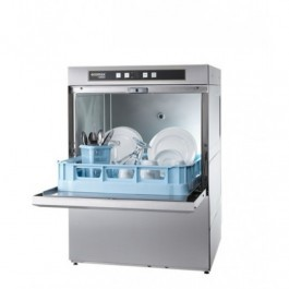 Hobart F504S Ecomax Front Loading Dishwasher with Drain Pump & Softener