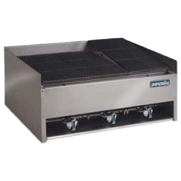 --- IMPERIAL EBA-3223 --- Char Rock Gas Chargrill with Three Burners