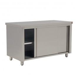 Inomak EG714 Stainless Steel Base Storage Cupboard - W1390mm