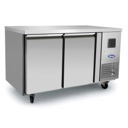 --- ATOSA EPF3462HD --- Two Door Counter Freezer with Splashback & Drawer Options