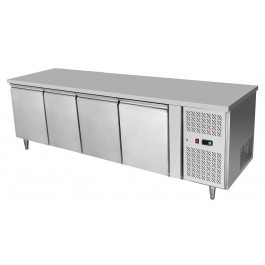 --- ATOSA EPF3482HD --- Four Door Counter Freezer with Splashback & Drawer Options