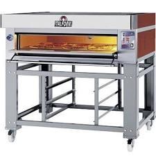 Italforni ES9-1 Heavy Duty Twin Deck Electric Pizza Oven