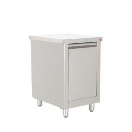Inomak ESS752C Stainless Steel One Door Storage Cupboard