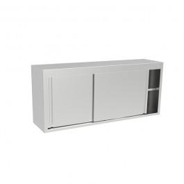 Inomak ET311A Stainless Steel Wall Mounted Storage Cupboard - W1100mm