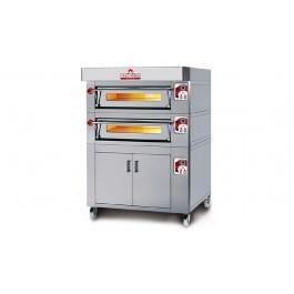 Italforni ES6-2 Heavy Duty Twin Deck Electric Pizza Oven