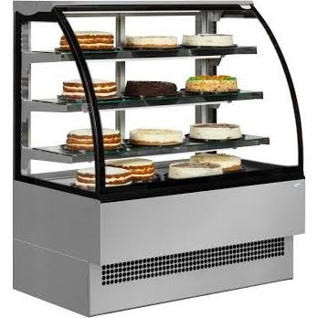 Interlevin Italia Range EVO600 SS Stainless Steel Patisserie Display