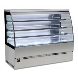 --- STERLING PRO EVO-SELF-180-SS ---  Stainless Steel Self Services Patisserie Counter