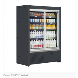 Tefcold Express CD EX125CD Chilled Two Full Glass Door Multideck