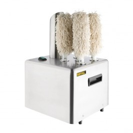 Buffalo FA118 Commercial Glass Polisher 5 Rotating Brushes