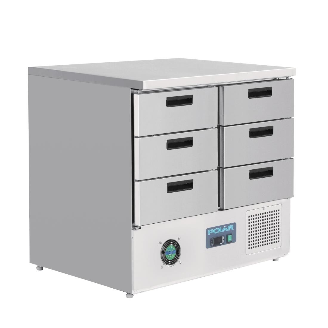 Polar FA440 G-Series Refrigerated Counter with 6 Drawers