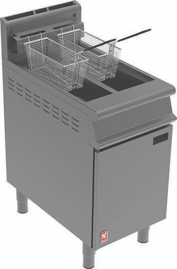 --- FALCON G3845 --- Dominator Plus Twin Pan Twin Basket Gas Fryer