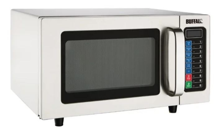 Buffalo FB862 Programmable 1000w Commercial Microwave Oven