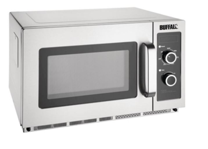 Buffalo FB863 Manual 1800w Commercial Microwave Oven