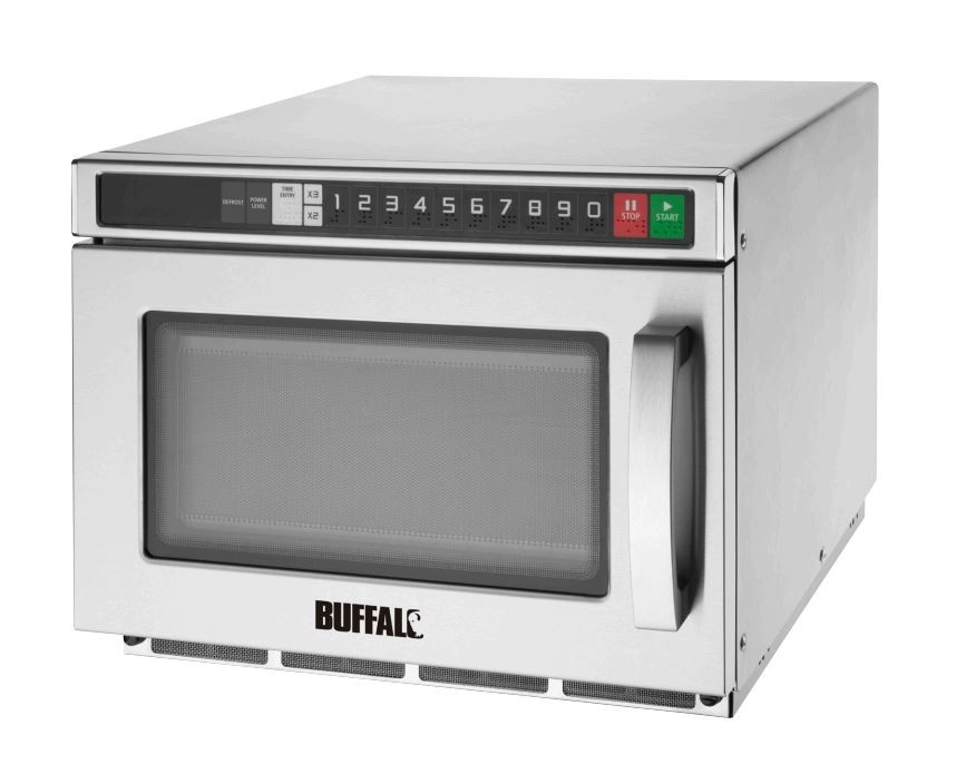 Buffalo FB865 Programmable 1800w Compact Microwave Oven