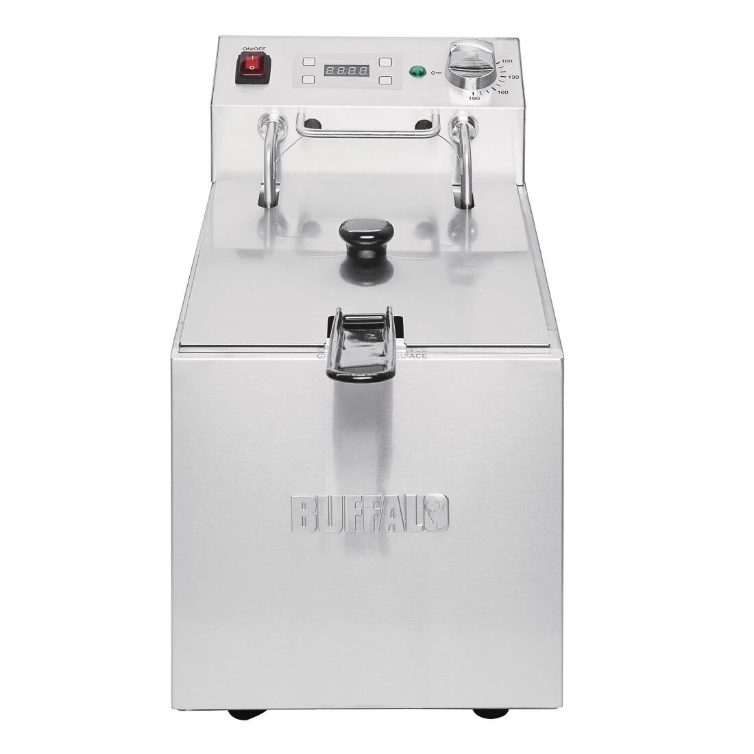 Buffalo FC258 Single Tank Countertop Fryer with Timer