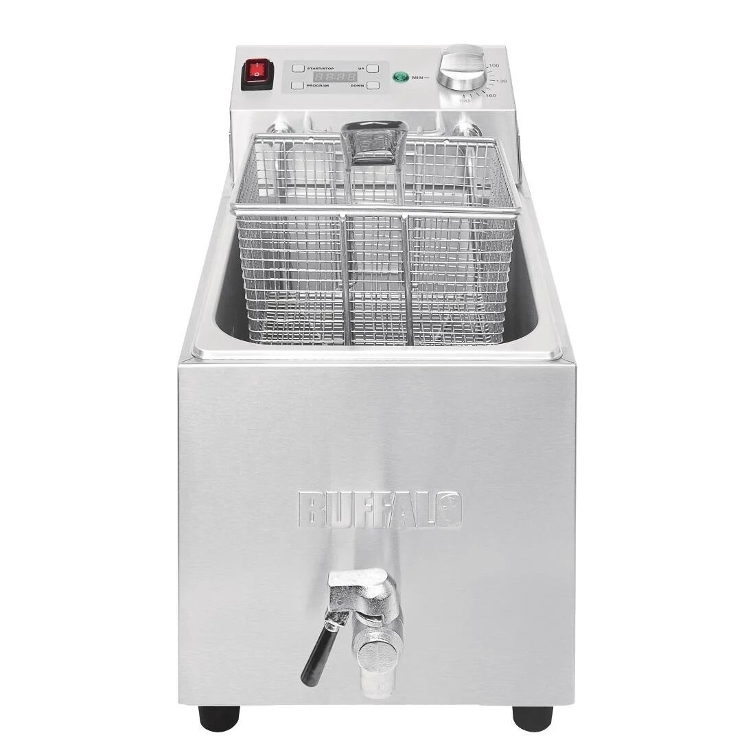 Buffalo FC376 Single Tank Countertop Fryer with Timer