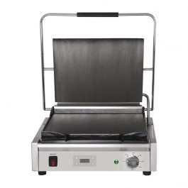 Buffalo FC381 Large Single Contact Grill with Flat Top & Bottom Plates