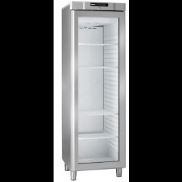 Gram Compact FG 420 RG L1 5W Stainless Steel Display Freezer - 964230441