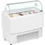 ISA Fiji 140 White Ice Cream Display Freezer