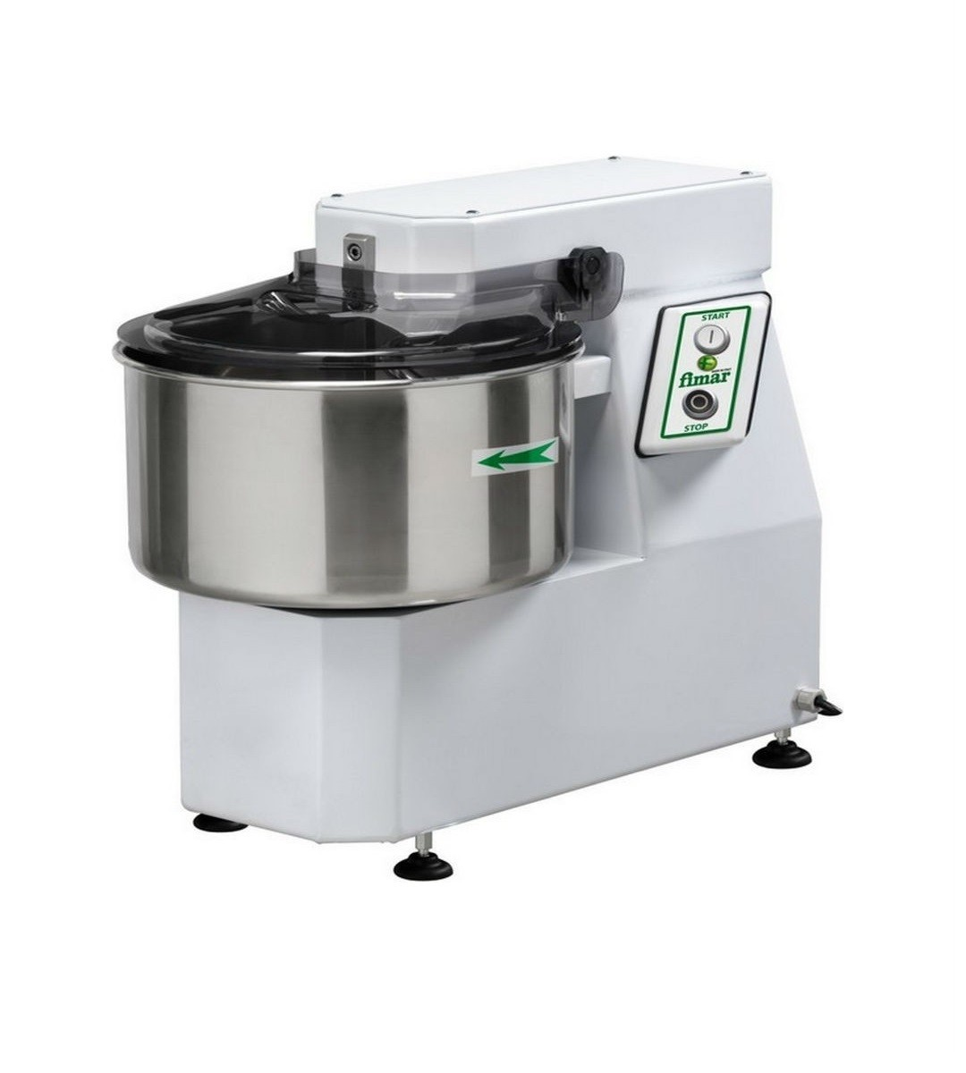 Fimar 38/SN Single Speed 42 Litre Spiral Mixer with Fixed Head