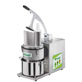 Fimar TV4000 Stainless Steel Veg Prep Machine with Collection Chamber & 1 Slicing Disc