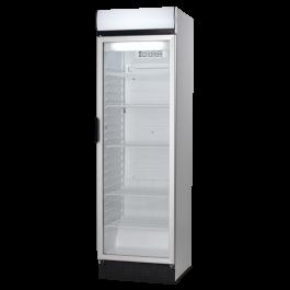 --- VESTFROST FKG410 --- Upright Glass Door Display Fridge with Lit Canopy