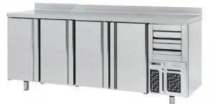 --- INFRICO FMPP2500 --- Four Door Counter Refrigerator with Upstand