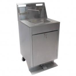--- FOLLETT 01350651 --- Mobile Stainless Steel 20litre Hand Wash Station
