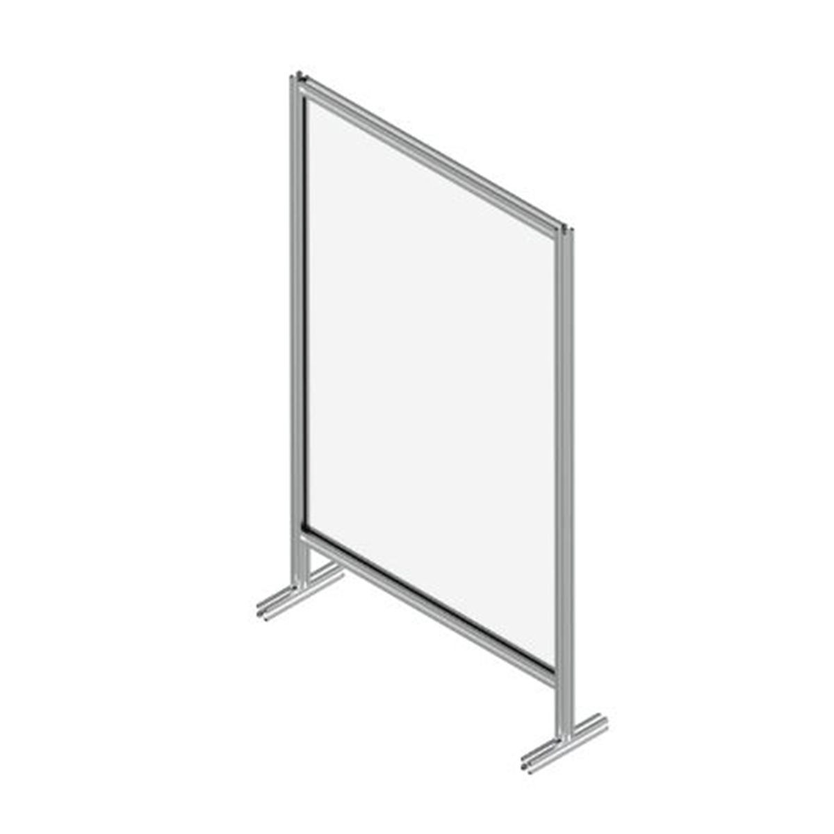 Sirman TABSHIELD 10X17 Floor Standing Single Panel Protective Screen