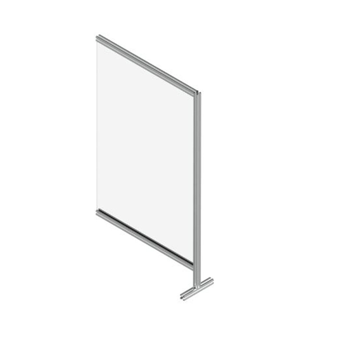 Sirman TABSHIELD 10X17+ Floor Standing Single Panel Protective Screen