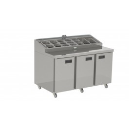Foster FPS1/3HR 3 Door Refrigerated Prep Counter